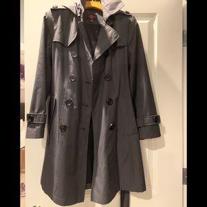 Gallery Grey Trench Coat
